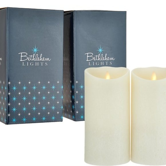 """Other - Touch Candle Set of 2 7"""" Candles in Gift Boxes"""